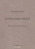 Théophile Gautier - Le mont Saint-Michel.