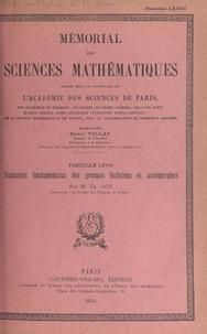 Théophile Got et  Académie des sciences de Paris - Domaines fondamentaux des groupes fuchsiens et automorphes.