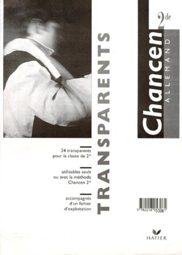 Théophile Wolff et Martine Bertolus - Allemand 2nde - Transparents.