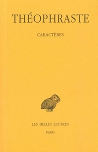 Théophraste - Caractères.