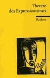 Otto F. Best - Theorie des Expressionismus.
