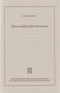 Theorie dialektischer Strukturen.