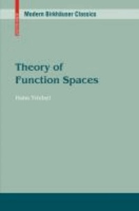 Theory of Function Spaces.