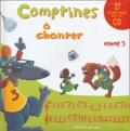 Thérèse Bonté et Vincent Bourgeau - Comptines à chanter - Volume 3. 1 CD audio