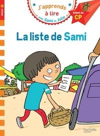 Thérèse Bonté - J'apprends à lire avec Sami et Julie  : La liste de Sami.
