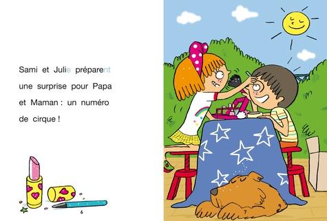 J'apprends à lire avec Sami et Julie  Le spectacle de Sami et Julie. Fin de CP, niveau 3