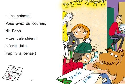 J'apprends à lire avec Sami et Julie  Sami et Julie attendent Noël. Milieu de CP, niveau 2