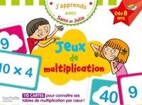 Thérèse Bonté - Jeux de multiplication - 110 cartes pour connaître ses tables de multiplication par coeur !.