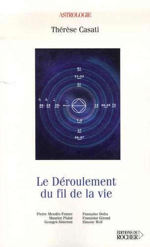 Thérèse Casati - Le déroulement du fil de la vie.