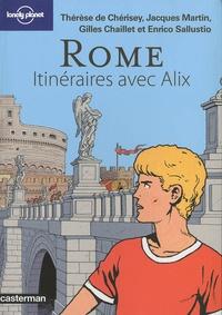 Thérèse de Chérisey et Jacques Martin - Rome - Itinéraires avec Alix.