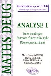 ANALYSE. Tome 1, Suites numériques, fonctions dune variable réelle, développements limités, Cours et exercices corrigés.pdf