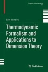 Thermodynamic Formalism and Applications to Dimension Theory.