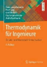 Thermodynamik für Ingenieure - Ein Lehr- und Arbeitsbuch für das Studium.