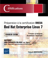 Deedr.fr Préparation à la certification RHCSA - Red Hat Enterprise Linux 7, examen EX200 Image
