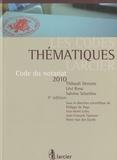 Thibault Denotte et Lévi Rosu - Code du notariat 2010.