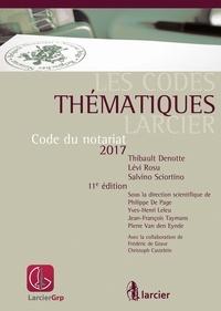 Thibault Denotte et Lévi Rosu - Code du notariat.