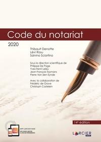 Téléchargement de l'ebook Code du notariat  - Code annoté à jour au 1er janvier 2020 9782807919433