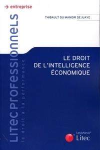 Thibault Du Manoir de Juaye - Droit de l'intelligence économique.