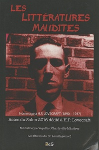 Thibaut Canuti - Les littératures maudites - Actes du Salon 2016 dédié à H.P. Lovecraft.