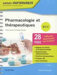 Pharmacologie et thérapeutiques : UE 2.11 - Thibaut Caruba | Showmesound.org