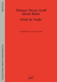 Thibaut Fleury Graff et Alexis Marie - Droit de l'asile.
