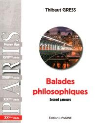 Thibaut Gress - Balades philosophiques - XXe siècle Second parcours.