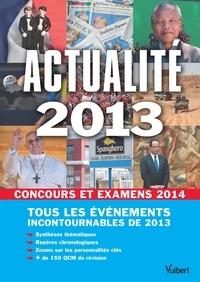 Thibaut Klinger - Actualité 2013 pour les concours et examens 2014.