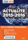 Thibaut Klinger - Actualité 2015-2016.