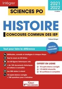 Thibaut Klinger - Concours Sciences Po - Histoire - Tout pour réussir Concours commun des IEP (Réseau ScPo) - Nouveau programme 2021-2022.
