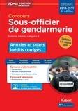 Thibaut Klinger et Bernadette Lavaud - Concours sous-officier de gendarmerie catégorie B - Annales et sujets inédits corrigés.