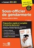 Thibaut Klinger et Bernadette Lavaud - Concours Sous-officier de gendarmerie externe et interne catégorie B.