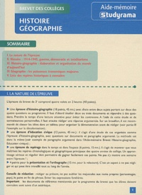Thibaut Klinger - Histoire / Géographie.