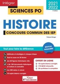 Thibaut Klinger - Histoire - Concours commun des IEP.