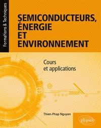 Thien-Phap Nguyen - Semiconducteurs - Energie et environnement.