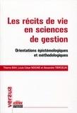 Thierno Bah et Louis César Ndione - Les récits de vie en sciences de gestion - Orientations épistémologiques et méthodologiques.