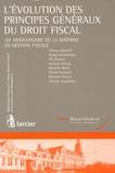 Thierry Afschrift et Daniel Garabedian - L'évolution des principes généraux du droit fiscal - 20e anniversaire de la maîtrise en gestion fiscale.