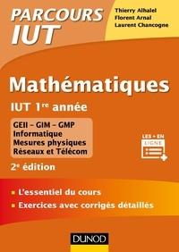 Mathématiques, IUT 1e année - Thierry Alhalel pdf epub