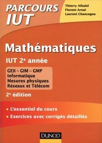 Thierry Alhalel et Florent Arnal - Mathématiques IUT 2e année.
