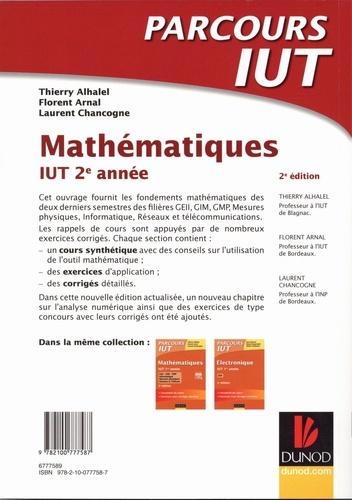 Mathématiques IUT 2e année 2e édition