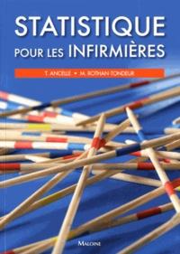 Thierry Ancelle et Monique Rothan-Tondeur - Statistique pour les infirmières.