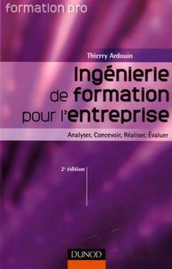Thierry Ardouin - Ingénierie de formation pour l'entreprise - Analyser, Concevoir, Réaliser, Evaluer.