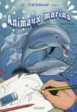 Thierry Beaudenon - Je dessine des animaux marins.