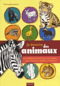 Je dessine des animaux - 65 modèles danimaux sauvages, de la ferme et bébés animaux!.pdf
