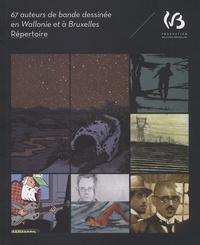 Thierry Bellefroid et Jean-Marie Derscheid - 67 auteurs de bande dessinée en Wallonie et à Bruxelles - Répertoire.
