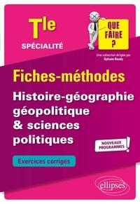 Thierry Bianchi et Jean-Luc Yvon - Histoire-géographie, géopolitique & sciences politiques Tle spécialité - Nouveaux programmes.