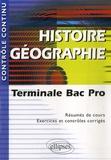Thierry Bianchi - Histoire Géographie Tle Bac Pro.