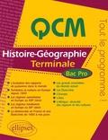 Thierry Bianchi - QCM Histoire-Géographie Tle Bac Pro.