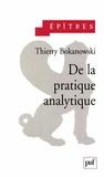 Thierry Bokanowski - De la pratique analytique.