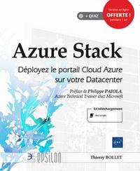 Thierry Bollet - Azure Stack - Déployez le portail Cloud Azure sur votre Datacenter.