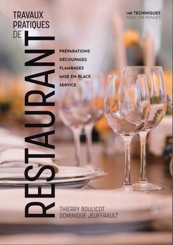 Travaux pratiques de restaurant